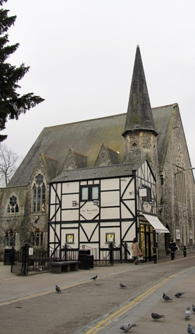 Everyday Church and a Jo Malone shop next to each other