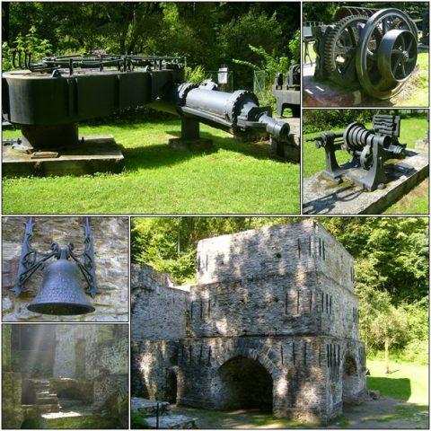 Újmassa – Outdoor machine exhibition and the old, Fazola, blast furnace