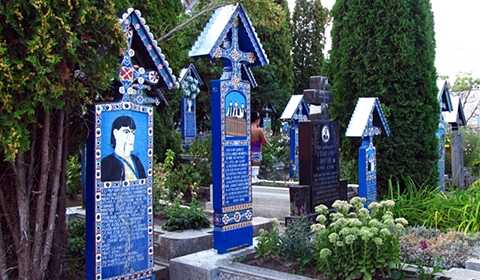 The Merry Cemetery of Săpânța, Romania