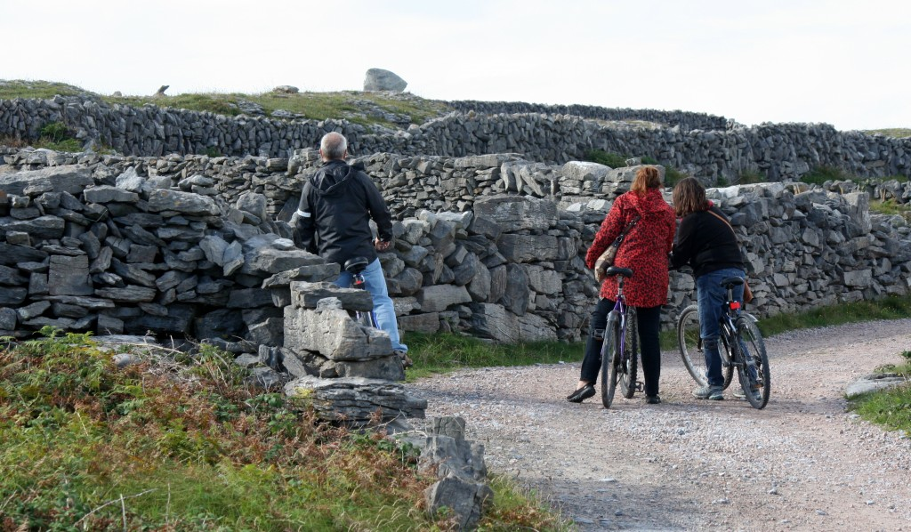 Our means of transportation on Inis Oirr