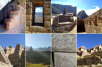 Details you'll see at Machu Picchu.